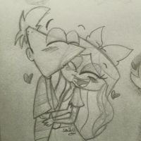 Phinbella kisses by smiley-face18