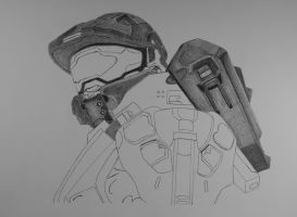 Master Chief Halo IV  w.i.p. by 12jack12