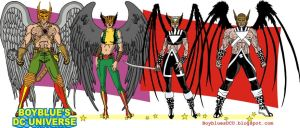 Hawkman and Hawkgirl 3 by BoybluesDCU