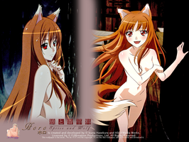 Spice and wolf wallpaper 1 by AG-HDerek345