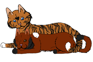 Emberfall-x-Tigerheart:Commission: by xIf-This-Is-Lovex