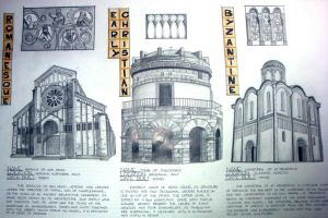 History of Architecture 1 Final Plate by atergreen