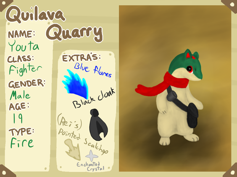 Youta (Quilava Quarry App) by YoutaTheQuilava