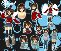 .:Raziel:. -Supernatural Oc- by cute-uke