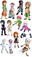 Athorment Chibi Gifts! by Lady-of-Link