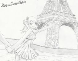 Fairy Tail a Paris by Lucy-Constellation