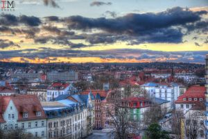 Erfurt Sky HDR Updated by gogo100878