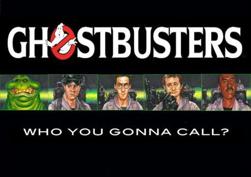 Ghostbusters by Hognatius