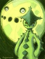 Cacnea Moon by diggermutant