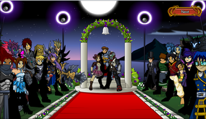 the biggest wedding in aqw by The-Architetcer