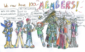 100 Members - Old DB Pic by Cruzerchic123