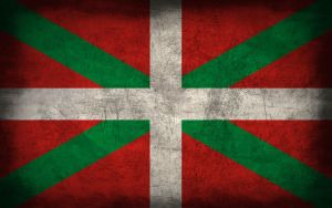 Basque Country Grunge Flag by Elthalen