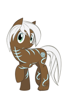 Fenris pony by Orionca