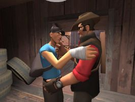 TF2 - Our Scout's Heart by SparkyMalone