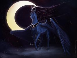 Luna Eclipsed by c-t-elder