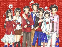 The World :Asia: -Hetalia- by sirenlovesyou