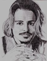 Johnny Depp by JazIllustrations