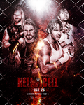 Hell In A Cell 2014 By HeZa by XHunter006