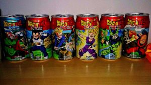 Dragon ball Z - Cell saga cans by Niruharu