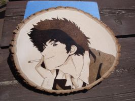 Spike Woodburning by ironhorn2501