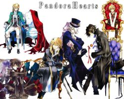pandora hearts boys by kjjjii