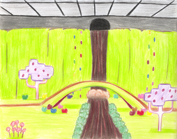 Willy Wonka's Chocolate Room by wafische89