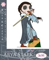 Toy Girls - Arts n Crafts Series 38: Arya Stark by mickeyelric11