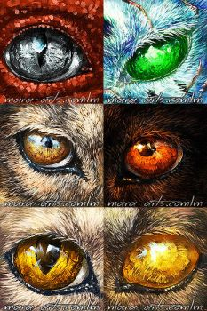 Eye Icons by Marawuff