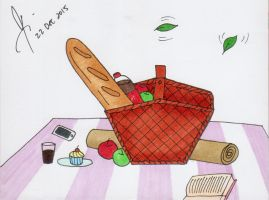 Picnic Basket by isnani