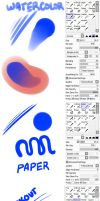 Paint Tool SAI brushes I use every day by chocolate-rebel