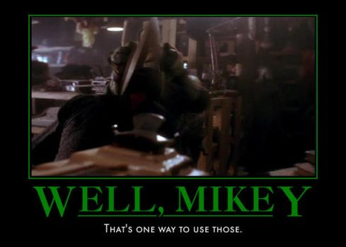 Mikey, come on..... by deamonsead14