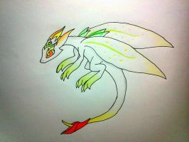 No. 3 Guardian of the Sky (adoptable) by minecraftmobs456