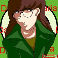 Your standing on my neck:Daria by Risky-chan