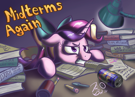 Midterms Again by FlavinBagel