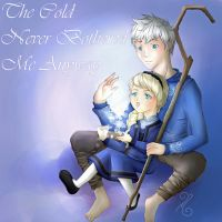 Jack Frost and Elsa by Decora-Chan