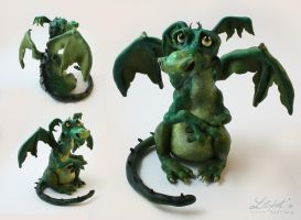 Drubert - The Sad Dragon by lite-foot