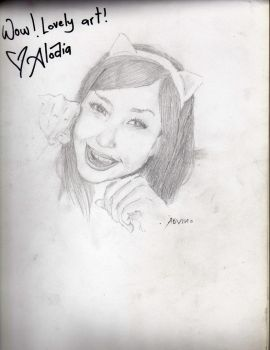 Alodia Signed by artEdrosa