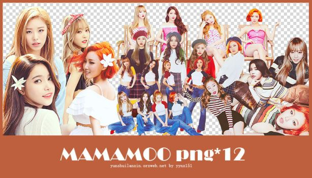 MAMAMOO png pack #01 by yynx151