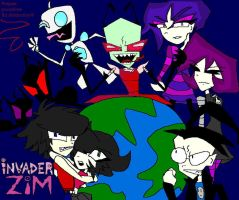 Invader Zim poster by TheForestSage