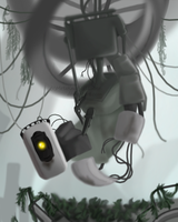 GLaDOS- Oh... It's you.... by StellasStar