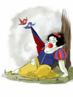 Disturbed Disney 2.   Dead for days Snow White by bluyou