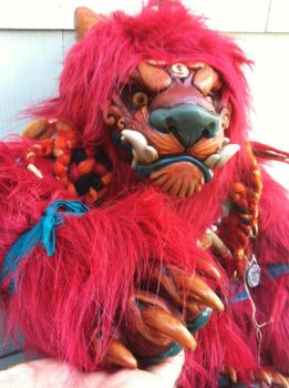 King Foo Dog doll preview by missmonster