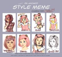 style meme by neodalion