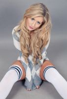 Holly Knee Highs by DavidKanePhotography