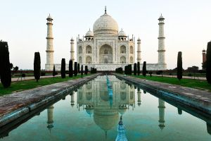 Taj Mahal reflected 2 by wildplaces