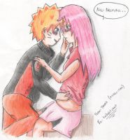 NaruSaku -love- by XSaku-ItaX