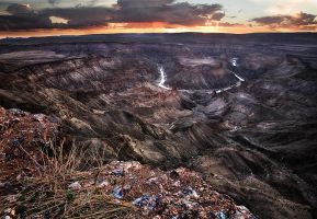 Fish River Canyon by Zefisheye