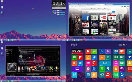 Windows 8.1 Desktop : November 2014 by dantenopolis
