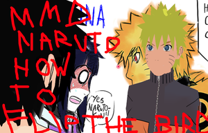 (MMD)How to flip the Bird-Naruto Menma(link indes) by Shadow-chan15