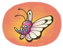 Butterfree 012 by Paleona